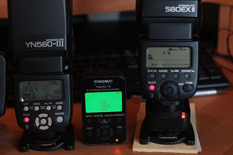 YN 560-TX, YN622-TX firmware upgade